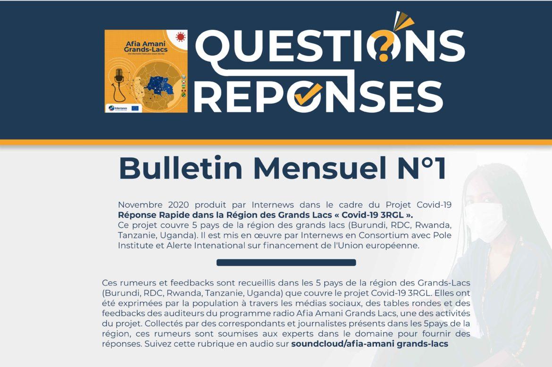 Question Réponse n°1 – Afia Amani Grands Lacs