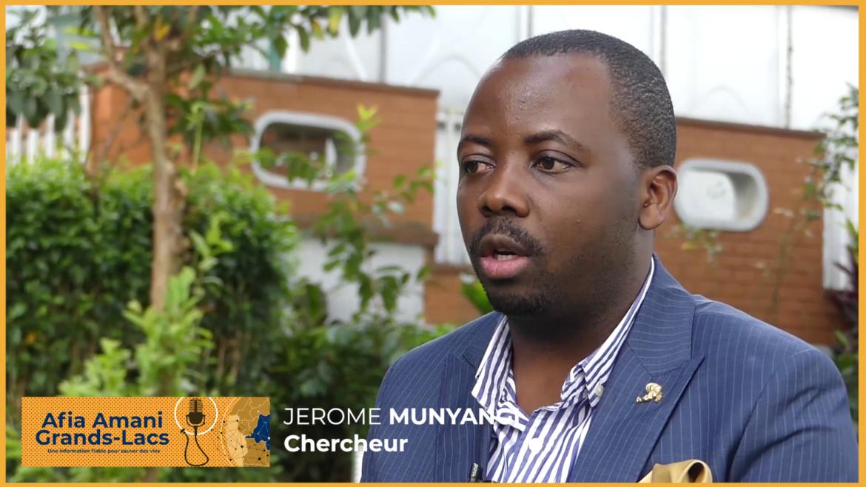 interview avec le chercheur Jérome Munyangi