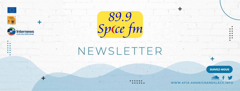 Résumé des dernières éditions de la newsletter de SPICE FM