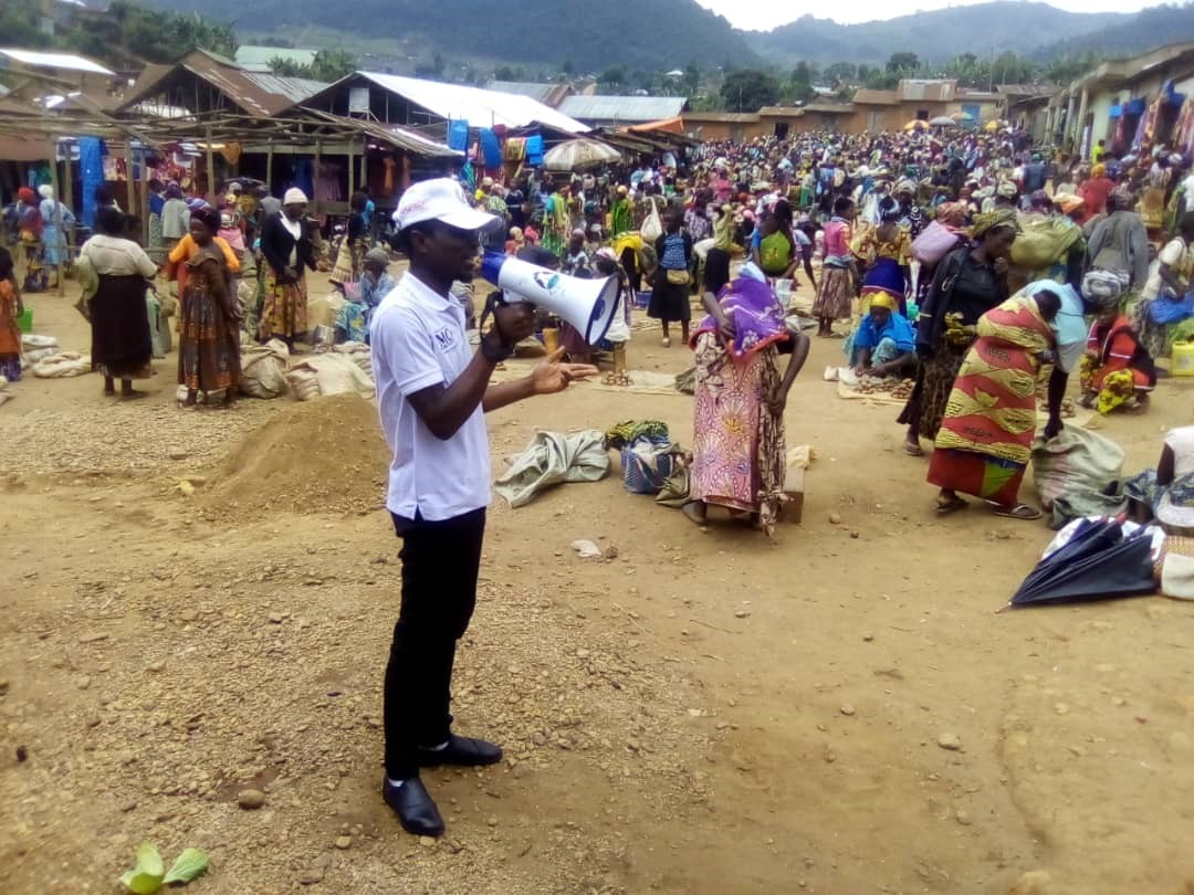 Au Nord-Kivu, Pole Institut accompagne des structures communautaires dans la sensibilisation de proximité