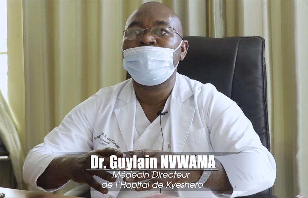 Le Dr Guylain Nvwama apporte des précisions à la question de savoir si le Coronavirus attaque plus les hommes que les femmes.