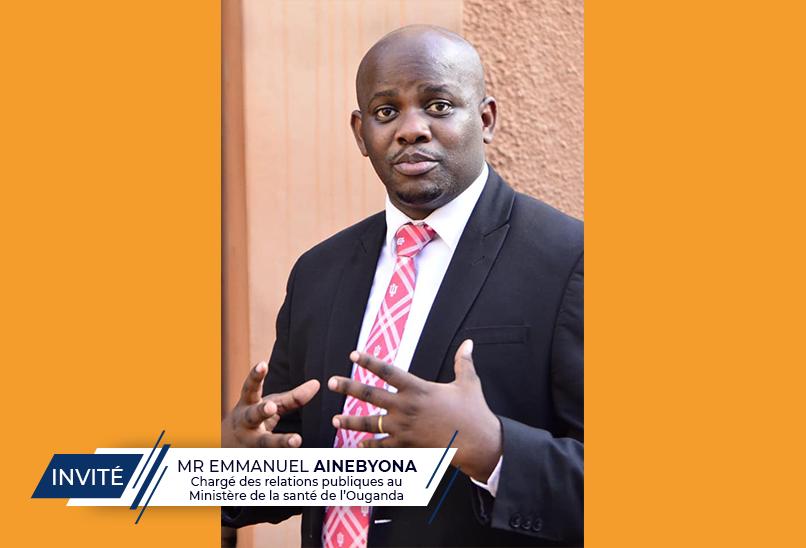 Mr E. AINEBYONA explique pourquoi les personnes qui ont reçu le vaccin contre la covid-19 doivent toujours se faire dépister au moment de leur voyage