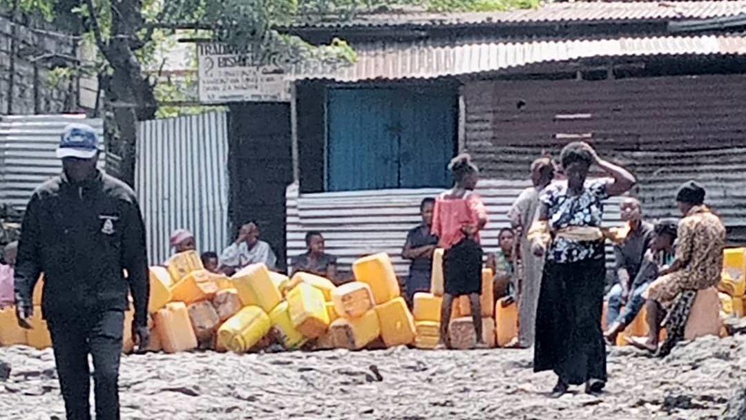 Mardi 25 Mai, 13h00 #infonyiragongo2021 : La Regideso s'active afin de répondre au besoin en eau potable.