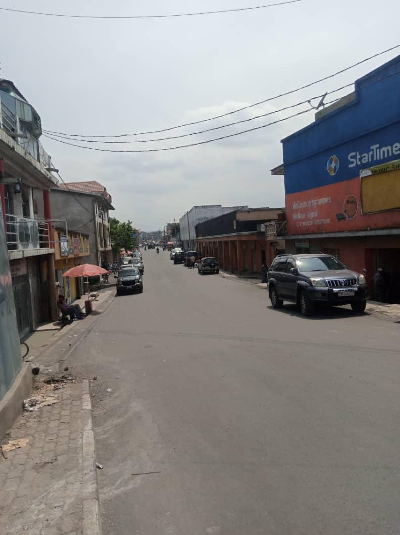 Mercredi 26 Mai, 15h00 Goma #InfoNyiragongo2021 :  l'activité commerciale reprend au centre ville.