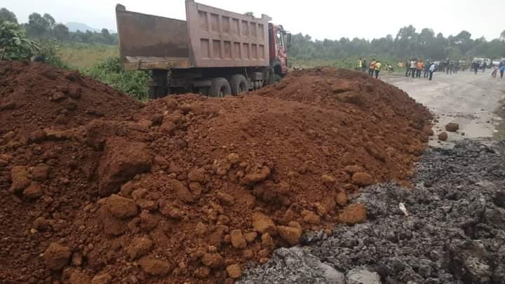 Mercredi 26 Mai, Goma 15h30 #InfoNyiragongo2021: Réouverture de la route Goma-Rutshuru