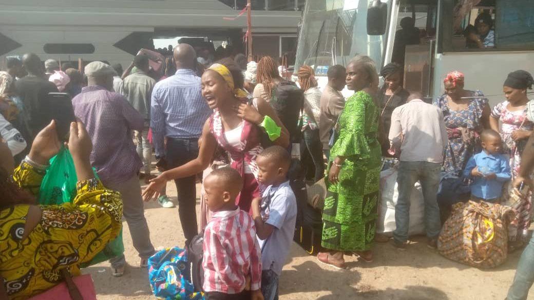 #InfoNyiragongo2021 : près de 10 mille déplacés de l'éruption du Nyiragongo de Goma à Bukavu