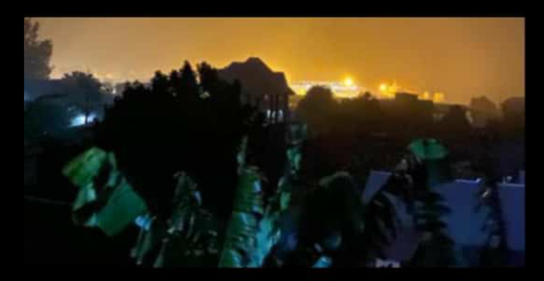 Mercredi 26 Mai, 15h00 Goma #InfoNyiragongo2021: La psychose et la panique envahissent les habitants de la ville de Goma