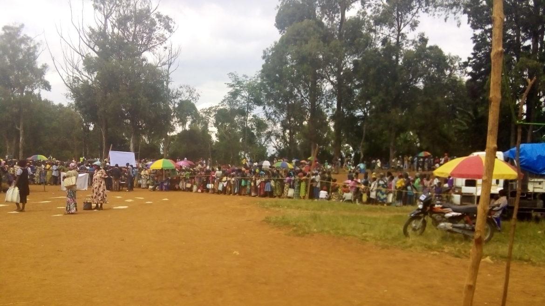 Des sinistrés du Nyiragongo sans soins médicaux dans le Kalehe au Sud-Kivu