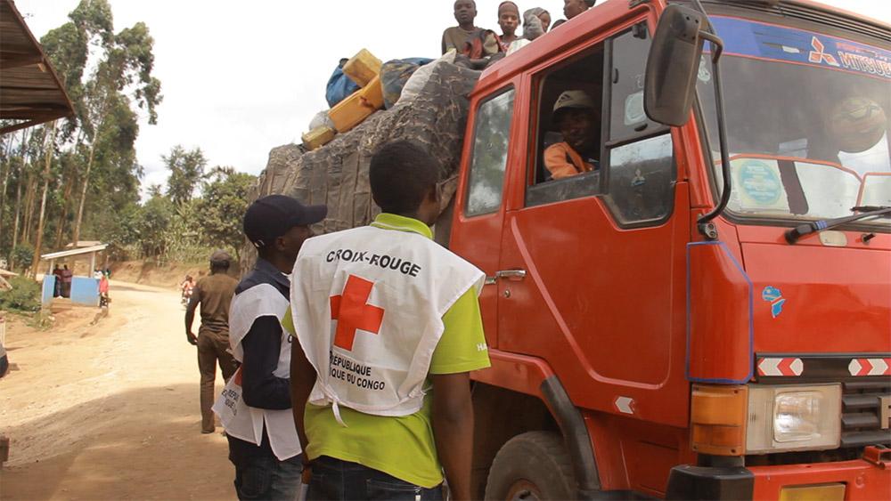La Fédération Internationale de la Croix Rouge et la Croix Rouge Congolaise au chevet de la population après l'éruption du Nyiragongo
