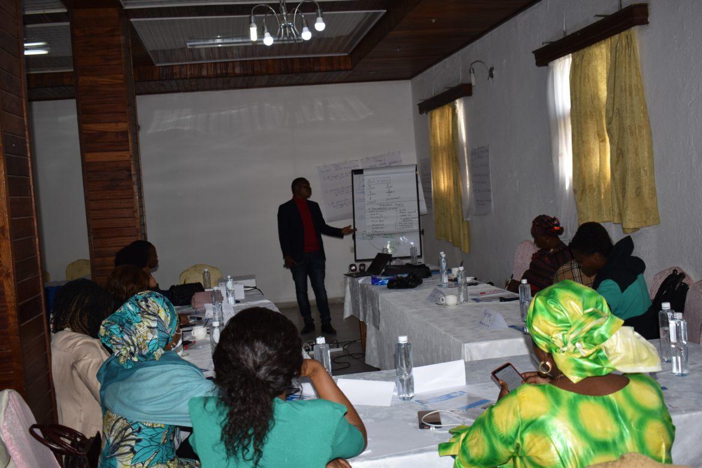 Goma : Internews forme 12 femmes journalistes de Goma sur l'intégration du genre dans les productions médiatique en période de crise sanitaire.