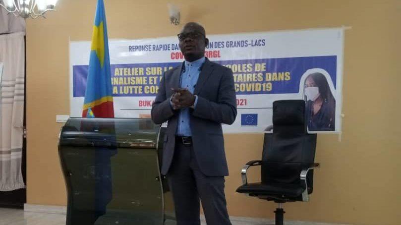 Bukavu : Atelier de formation à l'attention des communicateurs, universitaires et médias autour de la Covid19 et la Paix.