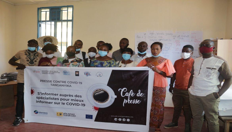 KALEMIE-RDC : Avec l'Appui d'Internews, la presse lance une série des cafés de presse mensuels pour permettre aux journalistes de se ressourcer et mieux informer sur la Covid 19