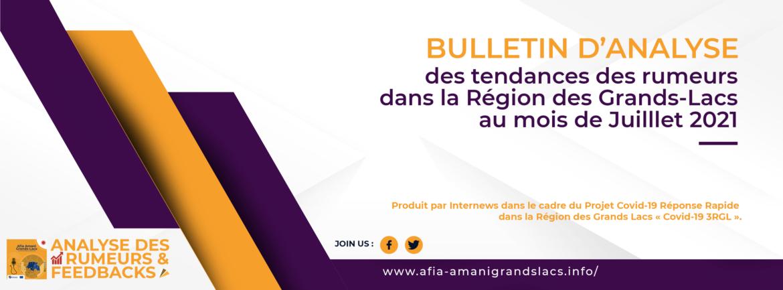 Analyse des rumeurs et feedbacks du mois de Juillet 2021 (with an English version)
