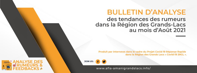 Analyse des rumeurs et feedbacks du mois d'août 2021 (with an English version)
